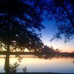 Sonnenuntergang am Ziegelinnensee