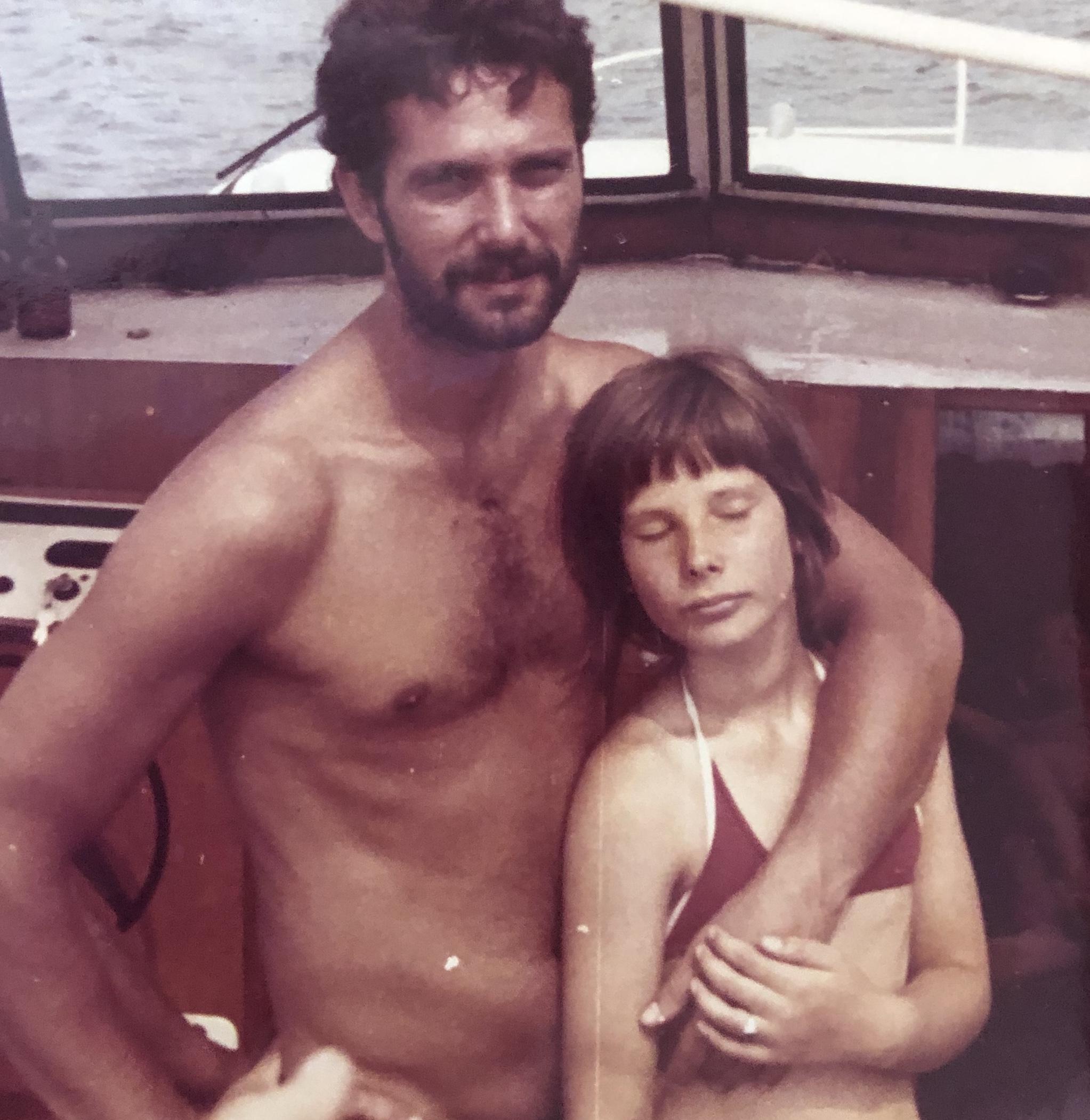 Sommer im Boot auf dem Schweriner See